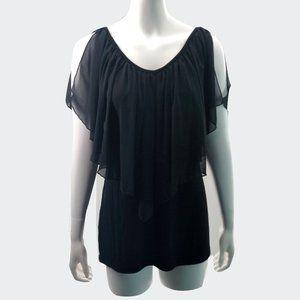Black Boutique Top Size Large
